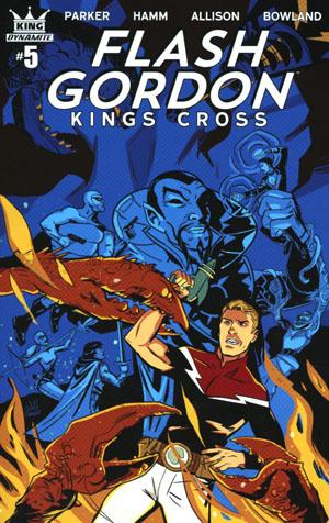 Flash Gordon Kings Cross #5 Cover B Variant Jeff Parker Cover
