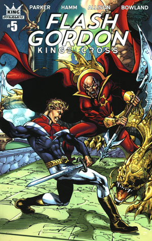 Flash Gordon Kings Cross #5 Cover C Variant Roberto Castro Subscription Cover
