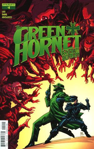 Green Hornet Reign Of The Demon #4 Cover A Regular Ken Lashley Cover
