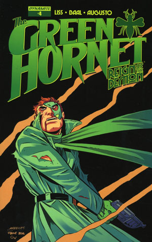 Green Hornet Reign Of The Demon #4 Cover B Variant Anthony Marques Cover