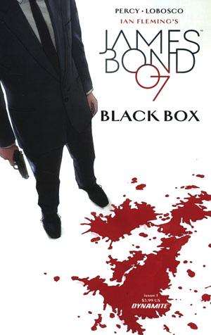 James Bond Vol 2 #1 Cover B Variant Dominic Reardon Cover