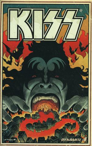 KISS Vol 3 #6 Cover B Variant Charles Wilson III Cover