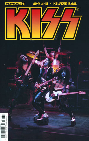 KISS Vol 3 #6 Cover C Variant Photo Cover