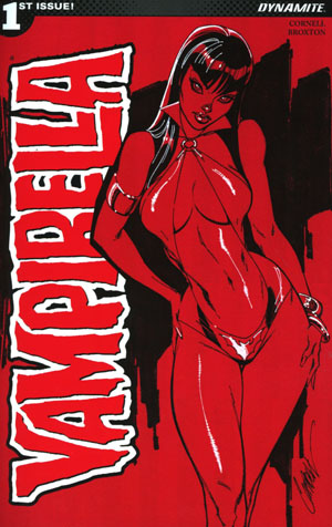 Vampirella Vol 7 #1 Cover B Variant J Scott Campbell Cover
