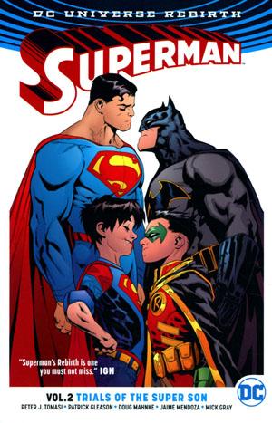 Superman (Rebirth) Vol 2 Trials Of The Super Son TP