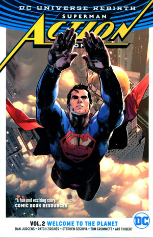 Superman Action Comics (Rebirth) Vol 2 Welcome To The Planet TP