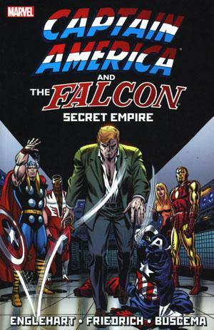Captain America And The Falcon Secret Empire TP New Printing