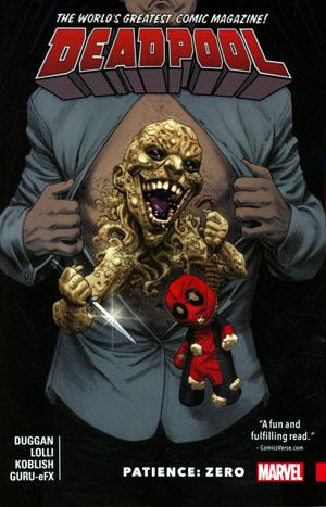 Deadpool Worlds Greatest Vol 6 Patience Zero TP