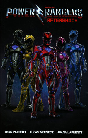 Sabans Power Rangers Aftershock TP Photo Cover