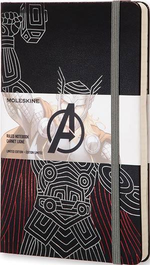 Moleskine Avengers Ruled Large Notebook - Thor