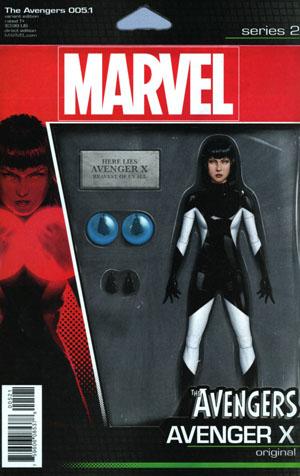 Avengers Vol 6 #5.1 Cover B Variant John Tyler Christopher Action Figure Cover