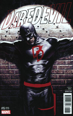 Daredevil Vol 5 #15 Cover C Incentive Variant Cover (Marvel Now Tie-In)
