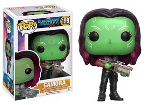 POP Movies 199 Guardians Of The Galaxy Vol 2 Gamora Vinyl Bobble Head