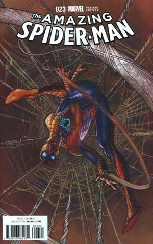 Amazing Spider-Man Vol 4 #23 Cover B Incentive Simone Bianchi Variant Cover (Clone Conspiracy Tie-In)