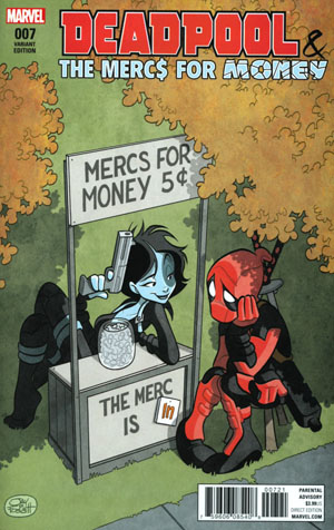 Deadpool And The Mercs For Money Vol 2 #7 Cover B Incentive Variant Cover (Inhumans vs X-Men Tie-In)