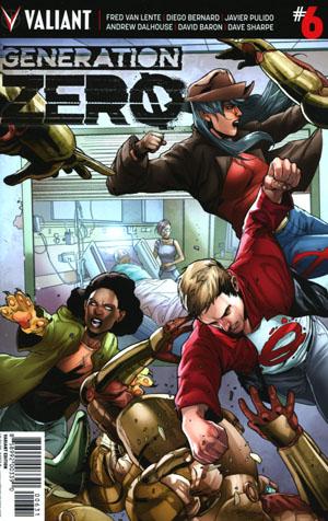Generation Zero #6 Cover C Incentive Stephen Segovia Variant Cover