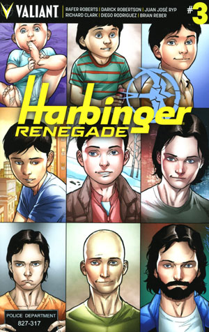 Harbinger Renegade #3 Cover D Incentive Clayton Henry Variant Cover