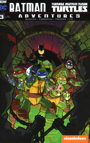 Batman Teenage Mutant Ninja Turtles Adventures #3 Cover C Incentive Ben Harvey Variant Cover