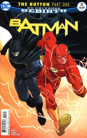 Batman Vol 3 #21 Cover D Variant Mikel Janin International Cover (The Button Part 1)