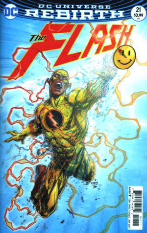 Flash Vol 5 #21 Cover A Regular Jason Fabok Lenticular Cover (The Button Part 2)