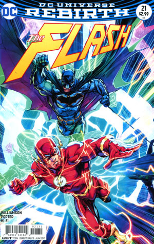 Flash Vol 5 #21 Cover C Variant Howard Porter Cover (The Button Part 2)