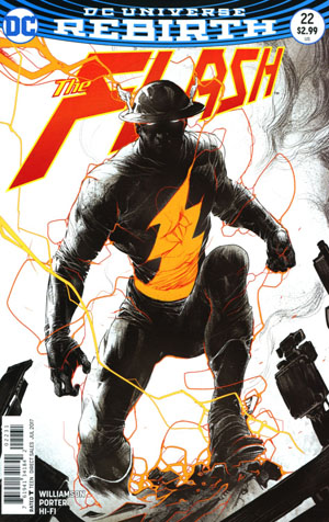 Flash Vol 5 #22 Cover C Variant Howard Porter Cover (The Button Part 4)