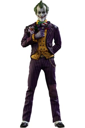 Batman Arkham Asylum Joker Masterpiece 12.5-Inch Action Figure
