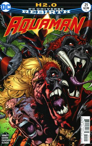 Aquaman Vol 6 #21 Cover A Regular Brad Walker & Andrew Hennessy Cover