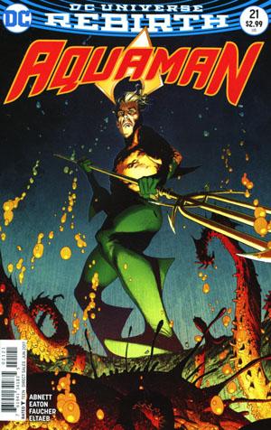 Aquaman Vol 6 #21 Cover B Variant Joshua Middleton Cover