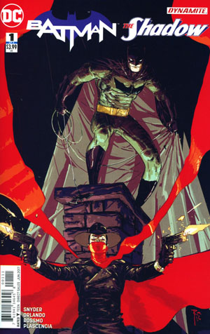 Batman The Shadow #1 Cover A Regular Riley Rossmo Cover