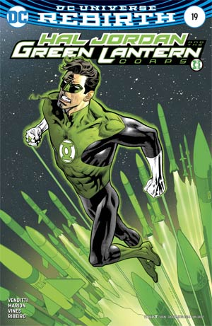 Hal Jordan And The Green Lantern Corps #19 Cover B Variant Kevin Nowlan Cover