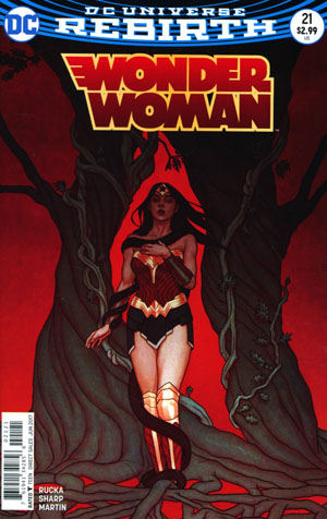 Wonder Woman Vol 5 #21 Cover B Variant Jenny Frison Cover