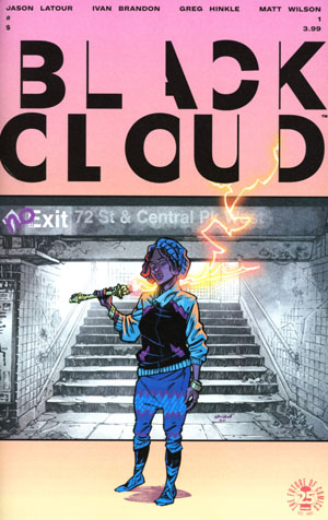 Black Cloud #1 Cover A 1st Ptg