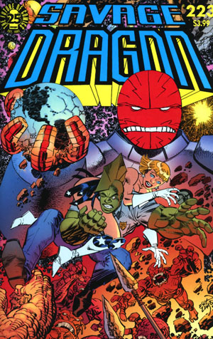 Savage Dragon Vol 2 #223 Cover A Regular Erik Larsen Cover