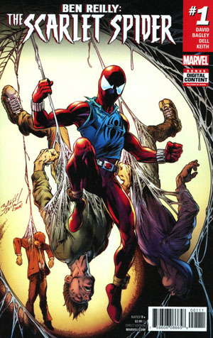 Ben Reilly The Scarlet Spider #1 Cover A Regular Mark Bagley Cover