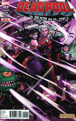 Deadpool Vol 5 #29 Cover A Regular Reilly Brown Cover (Til Death Do Us Part 6)
