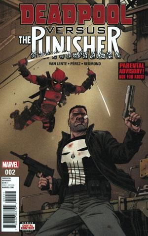Deadpool vs Punisher #2 Cover A Regular Declan Shalvey Cover