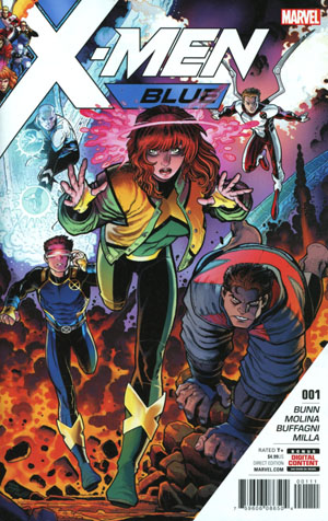 X-Men Blue #1 Cover A 1st Ptg Regular Arthur Adams Cover (Resurrxion Tie-In)