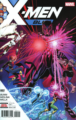 X-Men Blue #2 Cover A 1st Ptg Regular Arthur Adams Cover (Resurrxion Tie-In)