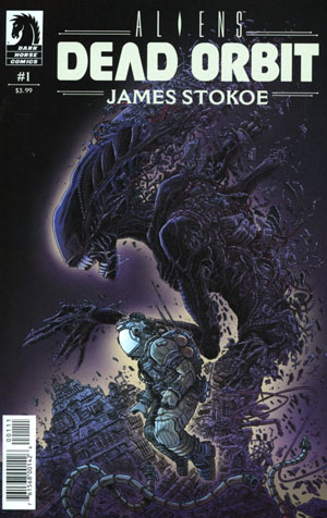 Aliens Dead Orbit #1 Cover A Regular James Stokoe Cover