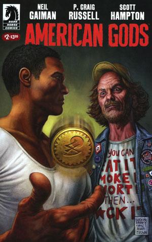 American Gods Shadows #2 Cover A Regular Glenn Fabry Cover