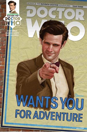 Doctor Who 11th Doctor Year Three #7 Cover A Regular Simon Myers Cover