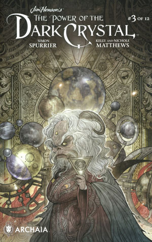 Jim Hensons Power Of The Dark Crystal #3 Cover B Variant Sana Takeda Subscription Cover