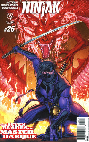 Ninjak Vol 3 #26 Cover B Variant Juan Jose Ryp Cover