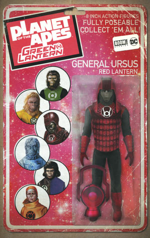 Planet Of The Apes Green Lantern #3 Cover B Variant David Ryan Robinson Vintage Action Figure Cover