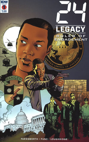 24 Legacy Rules Of Engagement #1 Cover A Regular Georges Jeanty Cover