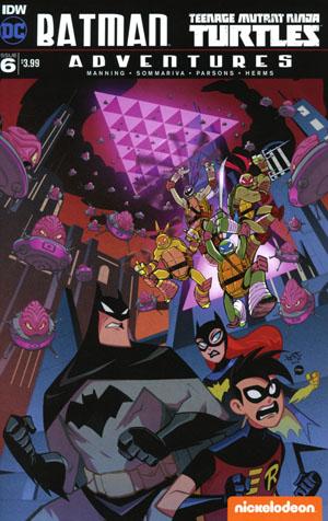 Batman Teenage Mutant Ninja Turtles Adventures #6 Cover A Regular Jon Sommariva Cover