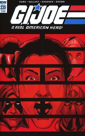 GI Joe A Real American Hero #239 Cover A Regular SL Gallant Cover