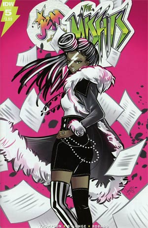 Jem And The Misfits #5 Cover A Regular M Victoria Robado Cover