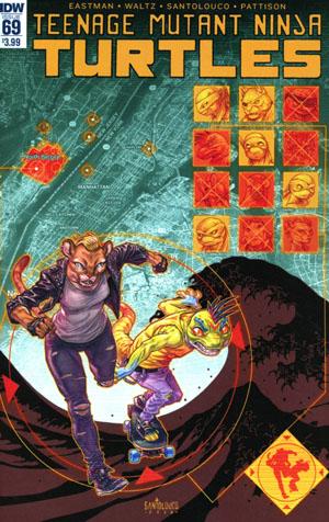 Teenage Mutant Ninja Turtles Vol 5 #69 Cover A Regular Mateus Santolouco Cover